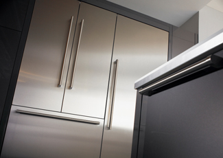 Broomall, PA Stainless Steel Kitchen Cabinets