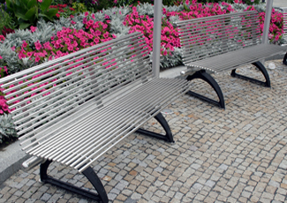 Radnor Township, PA Stainless Steel Benches